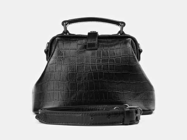 Уникальная черная женская сумка ATS-3918