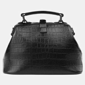 Уникальная черная женская сумка ATS-3918 210559