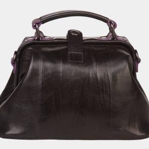 Удобная черная сумка с росписью ATS-1358 216803