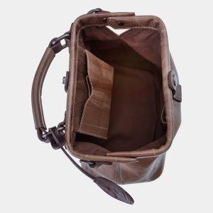 Вместительная бежевая сумка с росписью ATS-1655 216560