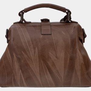Вместительная бежевая сумка с росписью ATS-1655 216559