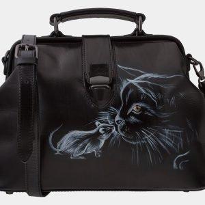Удобная синяя сумка с росписью ATS-1656