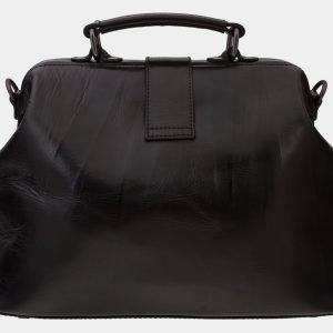 Вместительная синяя сумка с росписью ATS-1656