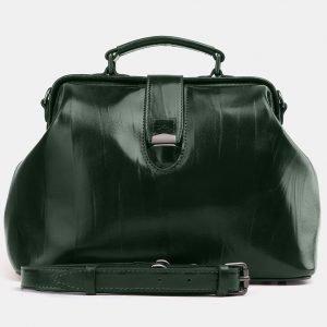 Деловая зеленая женская сумка ATS-3924