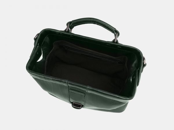 Вместительная зеленая женская сумка ATS-3924