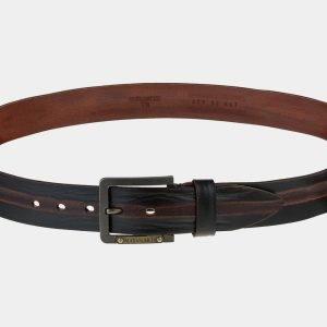 Удобный коричневый мужской джинсовый ремень ATS-1787