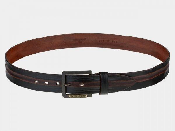 Модный коричневый мужской джинсовый ремень ATS-1787