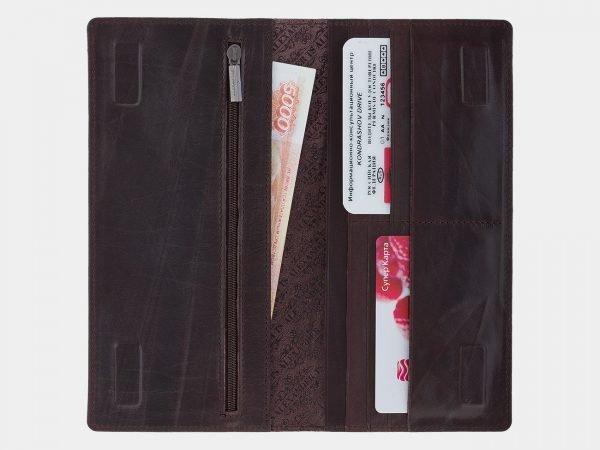 Модный коричневый портмоне ATS-1711