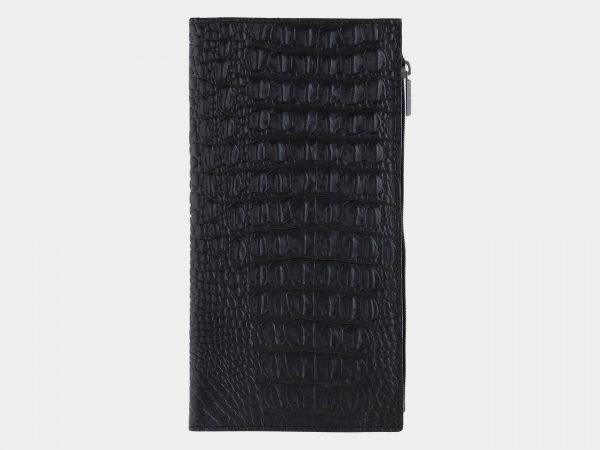 Удобный черный портмоне ATS-1713