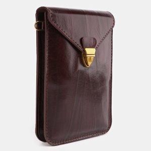 Модный бордовый женский клатч ATS-3929 210505