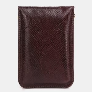 Неповторимый бордовый женский клатч ATS-3930 210501