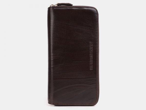 Уникальный коричневый портмоне ATS-3925