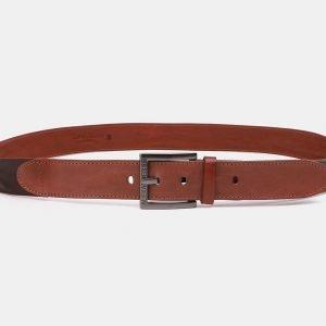 Модный светло-коричневый мужской джинсовый ремень ATS-3942