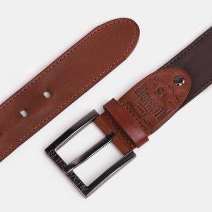 Модный светло-коричневый мужской джинсовый ремень ATS-3942 210451
