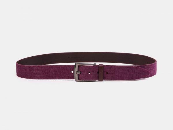 Деловой фиолетовый мужской джинсовый ремень ATS-3945