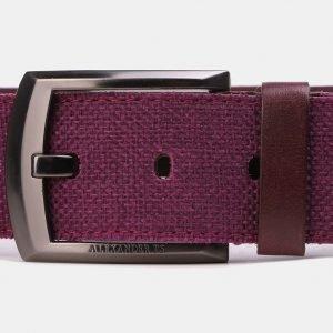 Деловой фиолетовый мужской джинсовый ремень ATS-3945 210440