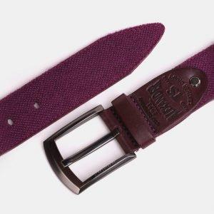 Деловой фиолетовый мужской джинсовый ремень ATS-3945 210439