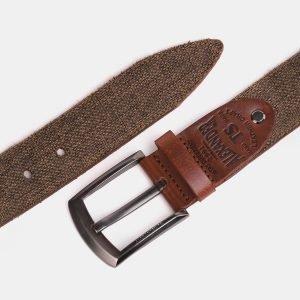 Деловой светло-коричневый мужской джинсовый ремень ATS-3946 210435