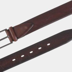 Кожаный коричневый мужской классический ремень ATS-1732 216469