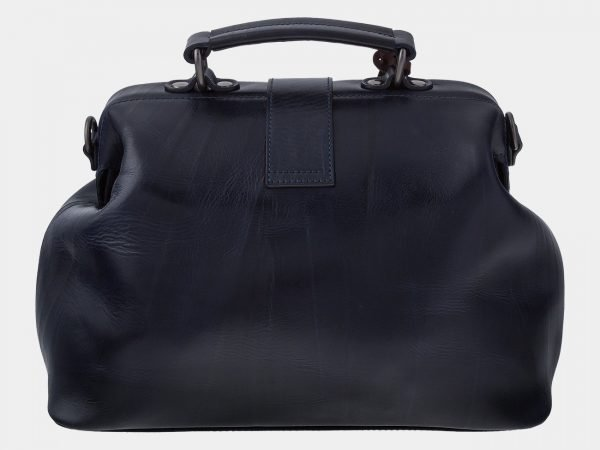 Удобная синяя сумка с росписью ATS-1755
