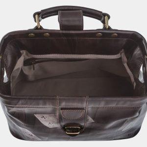 Уникальная коричневая сумка с росписью ATS-1760 216376