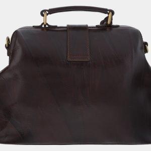 Уникальная коричневая сумка с росписью ATS-1763 216362