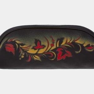 Уникальный черный аксессуар с росписью ATS-1773
