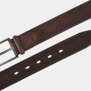 Удобный светло-коричневый мужской классический ремень ATS-1742 216433