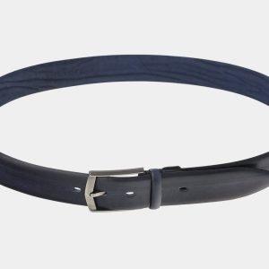 Удобный синий мужской классический ремень ATS-1743