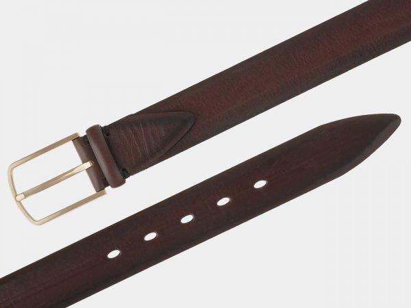 Неповторимый коричневый мужской классический ремень ATS-1746