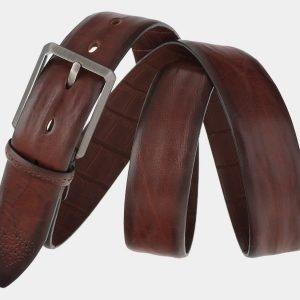 Удобный светло-коричневый мужской классический ремень ATS-1751 216402
