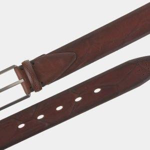 Удобный светло-коричневый мужской классический ремень ATS-1751 216401