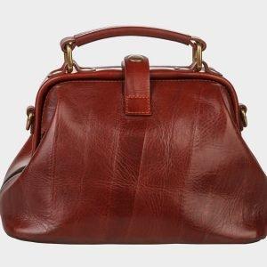 Функциональная светло-коричневая сумка с росписью ATS-1409 216791