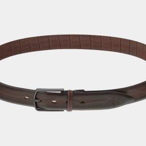 Уникальный коричневый мужской классический ремень ATS-1776
