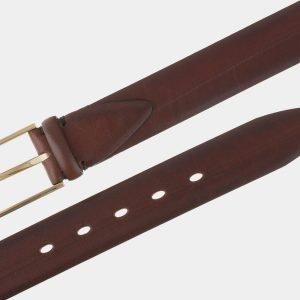 Солидный светло-коричневый мужской классический ремень ATS-1780 216317