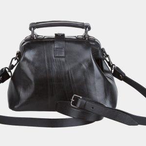 Уникальная черная женская сумка ATS-838