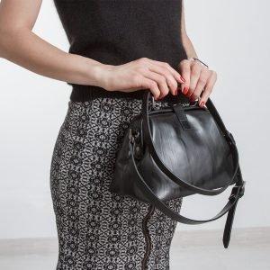 Уникальная черная женская сумка ATS-838 217087
