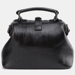 Уникальная черная сумка с росписью ATS-3936 210476