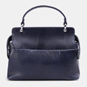 Стильная синяя сумка с росписью ATS-3935 210481
