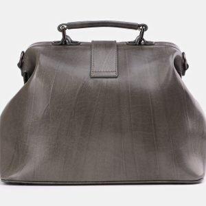Неповторимая серая сумка с росписью ATS-3932 210491
