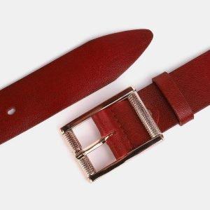 Солидный красный женский джинсовый ремень ATS-3952 210411