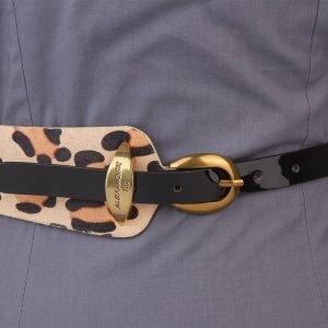 Солидный черный женский модельный ремень ATS-1258 216907