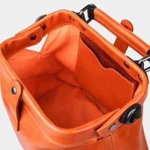Вместительная оранжевая сумка с росписью ATS-1236 216955