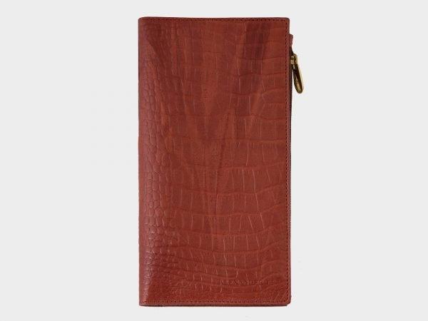 Кожаный коричневый портмоне ATS-1518