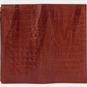 Кожаный коричневый портмоне ATS-1518 216714