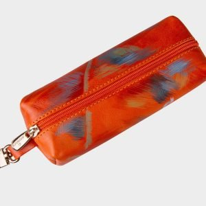 Стильный оранжевый аксессуар с росписью ATS-1559 216655