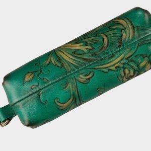 Удобный зеленый аксессуар с росписью ATS-1544 216668
