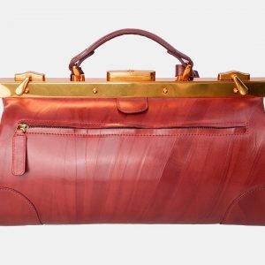 Деловой светло-коричневый саквояж с росписью ATS-3120 213452
