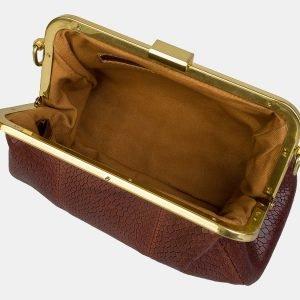 Удобный светло-коричневый женский клатч ATS-3157 213388