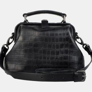 Функциональная черная женская сумка ATS-3165